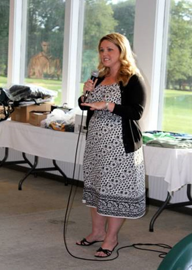 Doreen Scanlon telling her story.